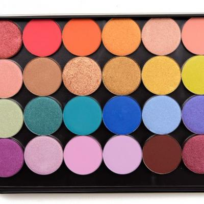 24 x ColourPop Pressed Powder Shadow Quad Ideas