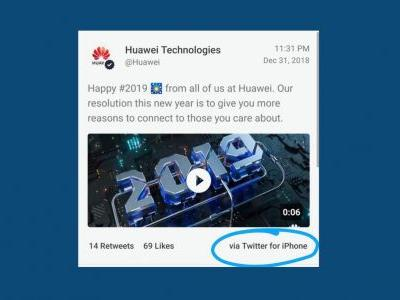 Huawei demotes responsible employees & slashes their pay following latest 'Twitter for iPhone' blunder