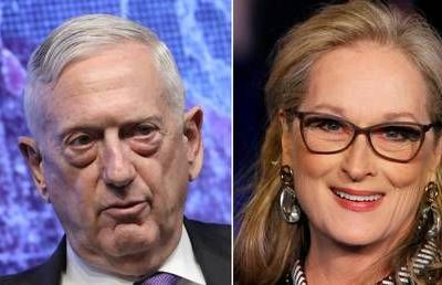 'I'm the Meryl Streep of generals!' Former Pentagon chief Mattis revels in Trump insult as Resistance demands dirt