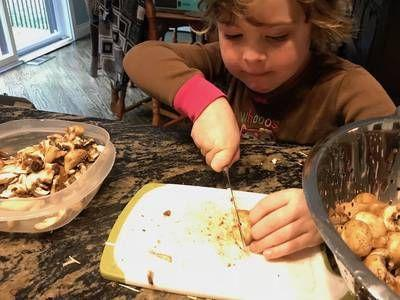 This family plans meals a month ahead to save time and money