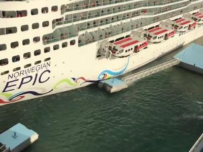 Epic fail: Watch as Norwegian cruise ship crashes into dock