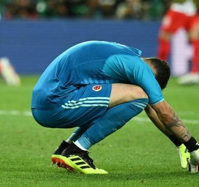 Ospina proud despite Colombia's shootout 'lottery' loss to England