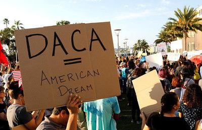 Off the wall: White House denies Democrats' claim Trump agreed to DACA deal excl. wall funds