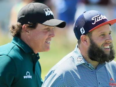 U.S. Open 2018: Andrew 'Beef' Johnston sees funny side of Phil Mickelson 'moment of madness'