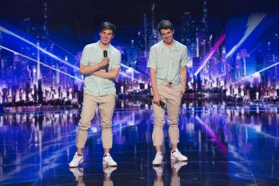 Colton and Trent Edwards - Aka Mirror Image - Are Officially the Underdogs of 'America's Got Talent'