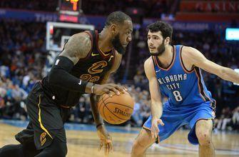 Thunder can't overcome James' 37, lose to Cavaliers 120-112
