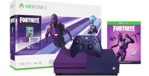 Leaked images unveil more details on the Fortnite edition Xbox One S