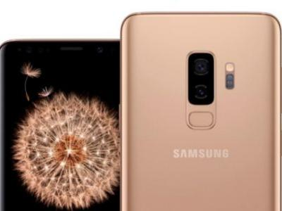 The gold Galaxy S9 and Galaxy S9+ arrive in the US on June 24th