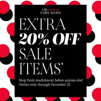 Sephora Sale on Sale 2019 - Extra 20% Off! Early Access for Rouges & VIBs