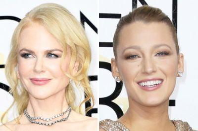 RED CARPET TREND: SMOKEY METALLIC EYES AT THE GOLDEN