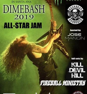 Dave Grohl, Corey Taylor, Rex Brown and more lead Dimebash 2019 bill