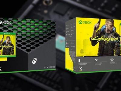 Cyberpunk 2077 Xbox Series X console bundle spotted at Polish retailer