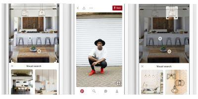 Pinterest adds pinch to zoom on Pins for iOS app, visual search improvements