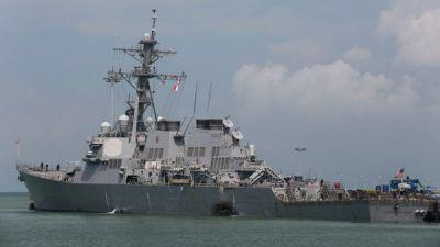 Navy Recovers Remains Of All 10 Missing Sailors Aboard USS John S. McCain