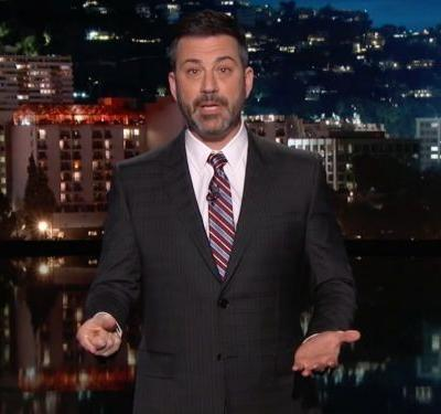 Jimmy Kimmel gives an emotional plea to Trump on gun control: 'Children are being murdered, do something'