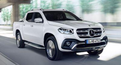 Mercedes X-Class Unveiled, Looks To Upstage The VW Amarok