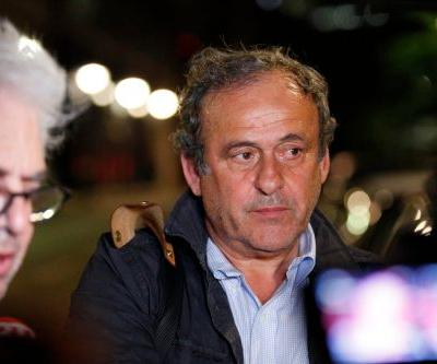 Platini released from custody after police questioning