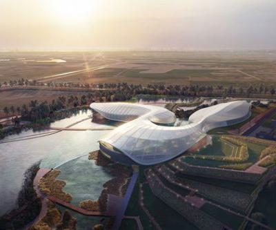 Ennead Designs New Nature Reserve and Public Aquarium in China