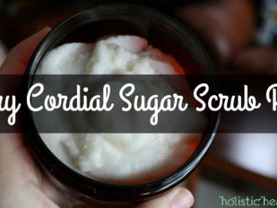 Cherry Cordial Sugar Scrub Recipe for Deliciously Hydrated Skin