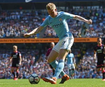 De Bruyne poised to make Man City return