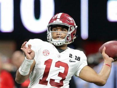 Tua Tagovailoa brings out the best in Alabama and Nick Saban - and the best is yet to come