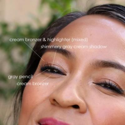 DIY Eyeshadow: Mixing Bronzer and Highlighter for Effortlessly Glowing Lids