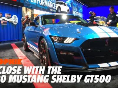 The 2020 Ford Mustang Shelby GT500 Looks Like a Hell of a Lot of Fun