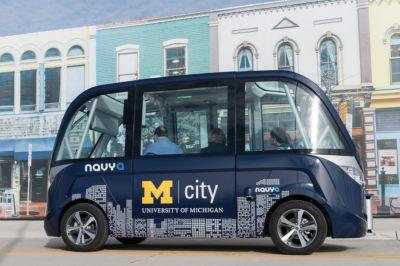Buckle Up: Driverless Cars Going Full Speed Ahead at Mcity