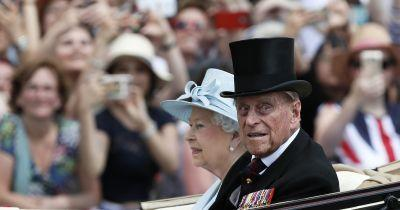 Prince Philip leaves London hospital after treatment