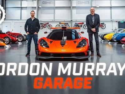 Check Out Gordon Murray's Insane Lightweight Car Collection