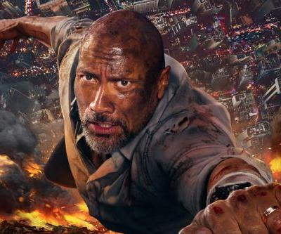 New Skyscraper Trailer Takes Dwayne Johnson to the Top