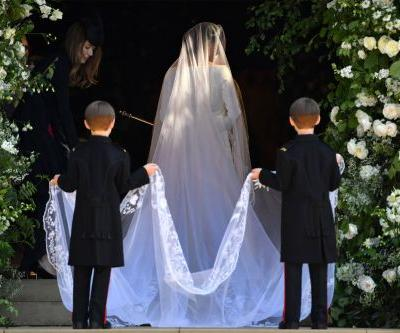 Meghan Markle wears Clare Waight Keller for Givenchy gown to marry Prince Harry