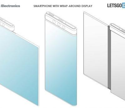 LG Foldable Patent Surfaces, The Screen Wraps Around the Frame