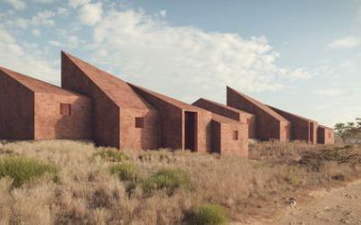 Marc Thorpe Proposes Houses for the Workers of Moroso on the Outskirts of Dakar Senegal