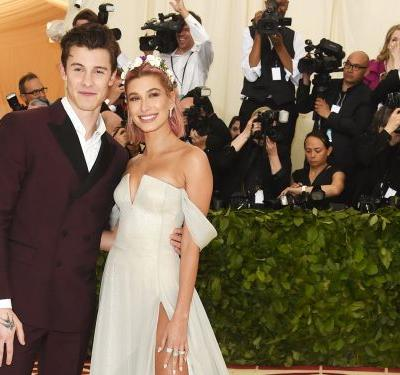 Shawn Mendes was spotted fixing Hailey Baldwin's train at the Met Gala - and now everyone wants to date him