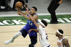 Suns edge Bucks 128-127 after foul in final second of OT