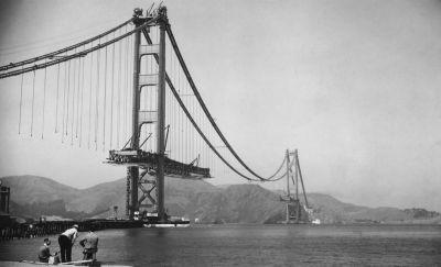 The Golden Gate Bridge just turned 80 years old - take a look at its historic build