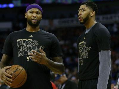 Don't expect Lakers to push Anthony Davis to center after DeMarcus Cousins' injury