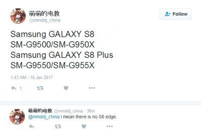 Leak: Model Numbers For The Samsung Galaxy S8