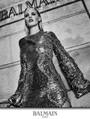 Exclusive: Olivier Rousteing Shoots His First Balmain