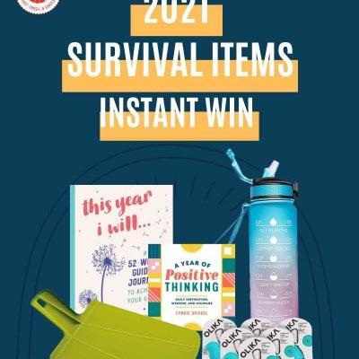 2021 Survival Items Instant Win Game