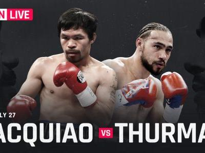 Manny Pacquiao vs. Keith Thurman: Live results, round-by-round updates, highlights from full card