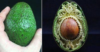 Avocado carvings are the next avocado-related thing we can actually get on board with