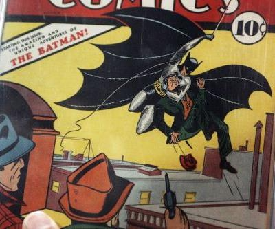 'Batman 1' Comic Fetches $2M USD at Auction