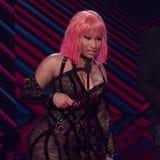 Nicki Minaj Got REAL Flirty With Michael B. Jordan at the People's Choice Awards