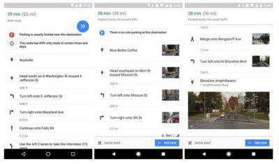 Google Maps Uses Street View For Turn-By-Turn Navigation