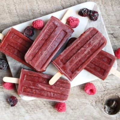 No Sugar Added Popsicles