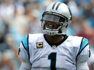 Falcons' Damontae Kazee ejected for late hit on Panthers' Cam Newton