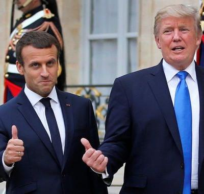 France's Macron to visit the US as disputes over trade, Iran threaten his bromance with Trump