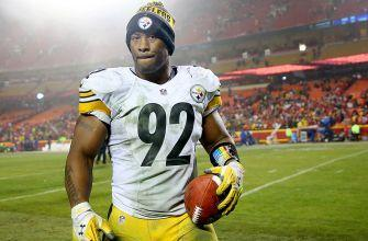 On a defense full of young talent, it's veteran James Harrison who saves Steelers' day